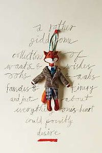 Anthropologie - Wilbury Animal Ornament