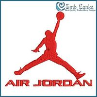 Embroidery pattern for Michael Jordan