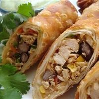 "Southwestern Egg Rolls | ""One serving"" of these is however many you put on a plate!"
