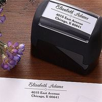 Diamond Design Self-Inking Stamper Totally was just thinking about something like this this morning :D