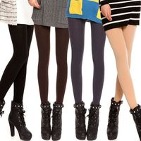 Sali Spring / Autumn / Winter Tights Fashion Stockings Plus Velvet Warm Tights Winter Dress Women's Tights Pantyhose $28.00