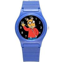 Arthur the TV Cartoon on a Girls / Boys Blue Plastic Watch watches EL-VI1M-4484-Ships from Hong Kong $26.00
