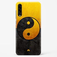 Yin & Yang in Gold Hard Case Phone Cover from Myxtur