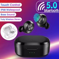 [True Wireless] Stereo bluetooth 5.0 Earbuds Smart Touch TWS In-ear Sport Earphone With Charging Case