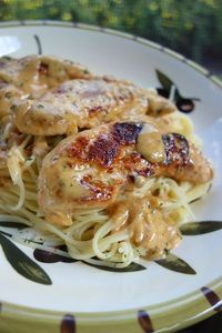 Chicken Lazone - amazing! I could eat this every week!