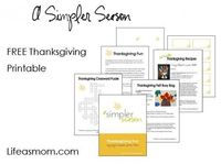 Free printable featuring activities for Thanksgiving Day to please kids of all ages.