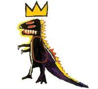 Jean Michael Basquiat T-Rex