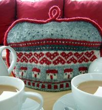 Ravelry: Home Sweet Home Tea cosy pattern by Julia Marsh