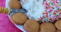 This Funfetti Cake Cheese Ball is a delicious dessert cheese ball that tastes just like cake.