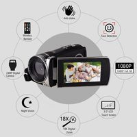 Andoer F450 Full HD 1080P Digital Video Camera