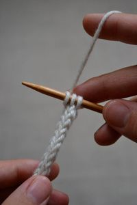 How to knit an i-cord.