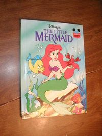 Disney's The Little Mermaid book (1993) for sale at Wenzel Thrifty Nickel ecrater store