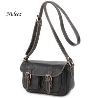 Nuleez Vintage Genuine Leather Women Bag High Quality Cowhide R960.60