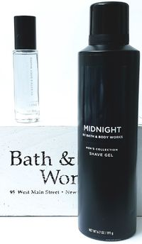 Bath & Body works Men's Collection MIDNIGHT Cologne Spray & Shave Gel $23.85