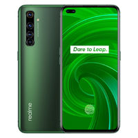 Realme X50 Pro 5G IN Version 6.44 inch FHD+ 90Hz Refresh Rate 180Hz Touch Sensing NFC Android 10 4200mAh 65W SuperDart Charge 64MP AI Quad Rear Camera 8GB 128GB Snapdragon 865 Smartphone