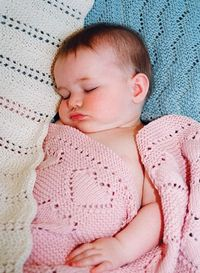 Easy Knit Baby Blankets on Ravelry
