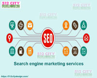 Do you wish to make your business website visible on the top 5 search results on the leading search engines? Customized Search engine marketing services at 512 City Design will help you to achieve your targets! Visit www.512citydesign.com and consult the ...
