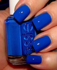 "Essie ""Mesmerize""...typically not a fan of blue polish, but this is just screaming my name."