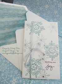 An Endless Flurry of Snowflakes by kleinsong - Cards and Paper Crafts at Splitcoaststampers
