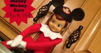 Looking for easy Elf on the Shelf Ideas? Photos included below. Bring out the elf fashions, accessories, and personalized notecards! Here's a series of 10 fun p