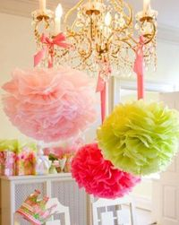 Summer birthday party decorations