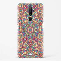 Chaos in Geometry Hard Case Phone Cover from Myxtur