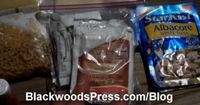 Hiking Food For Long Distance Backpacking - 5,000 Calories Per Day - Probably the best video on what foods to buy and how to pack them. Timothy packs each days food into its own gallon ziplock with complete breakfasts and dinners inside quart ziplock bags...