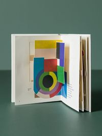 Madame Sonia Delaunay is a pop-up book featuring pop-up illustrations based on paintings, textiles and costume designs by Sonia Delaunay. Gérard Lo Monaco's hig