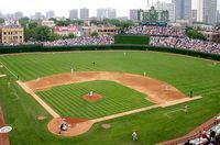 Wrigley Field - Second only to Fenway and, at the time, the best damn day at the yard in my life. Left field bleachers, interleague series vs. the Sox. Amazing.