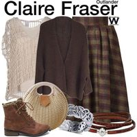Inspired by Caitriona Balfe as Claire Fraser on Outlander. More