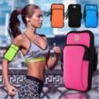 Universal Sports Armband Case - Zippered Fitness Running Arm Band Bag Pouch. $12.90