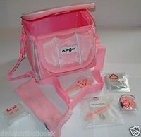 New Pink Nintendo DS Lite/DSi/DSi XL/3DS/3DS XL Travel Bag Carry Case