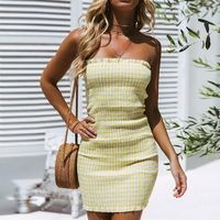 Women's Sexy Solid Color Tight Wrapped chest Off Shoulder Tights Slim Dress $18.99 Women's Wholesale Fashion Outlet NOW SHIPPING WORLD WIDE !!! Download our mobile app @ http://mobincube.mobi/5HHP29