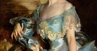 "John Singer Sargent. Can't find a name. Opal named it ""Girl in Lacy Dress"""