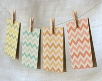 "Howdy, friends! Cyd from The Sweetest Occasion here today bringing you a dose of one of my favorite design trends of the moment �€"" chevron! Chevron is such a ver"