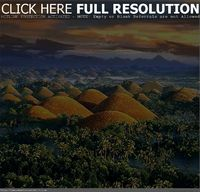 Chocolate hills, Philippines travel place 2015