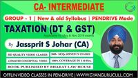 Join CA Inter Direct Tax Classes at Gyan Gurucull Institute, which has located in New Delhi. Our Coaching Institute is the leading coaching center in Delhi for CA Professional Course. We provide a variety of coaching classes for all subjects in the Charte...