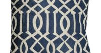 I pinned this Edith Pillow in Blue from the Design 1800 event at Joss and Main!