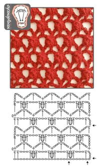 "Intriguing #crochet stitch found on a Spanish blog. Link takes you to a collection of photos of crochet stitches. To see this one, you will need to page through the photos or click the link ""Galeria de puntos"" and look for the crochet photo collec..."