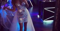 Omg I love! Wish I had this dress for mine! - bachelorette dress - Tarik Ediz #90192