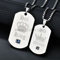 Gullei.com His Hers King Queen Crown Couples Promise Jewelry 