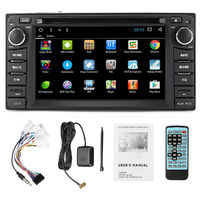7 Inch 2 DIN 8G GPS Card Bluetooth WiFi FM DVD Car Radio MP5 Player for Toyota