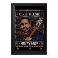 Eenie Meenie Miney Moe Decorative Wall Plaque Key Holder Hanger $15.00 https://www.nurdtyme.com