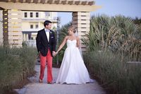 John + Louise's preppy Florida nuptials. Photo by Dede Edwards Photography.