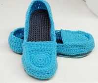 Women's Crochet Loafers Pattern | AllFreeCrochet.com