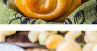 Easter Bunny Dinner Rolls (Lion House Rolls) from The Food Charlatan // These rolls are so tender and buttery! Plus adorable, hello. And NOT hard to make!