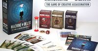 Machine of Death: The Game of Creative Assassination. Game and All Expansions