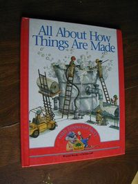 All About How Things Are Made with Inspector MCQ (1992) for sale at Wenzel Thrifty Nickel ecrater store