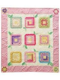 Sweet English Posies Quilt Pattern