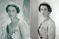 Princess Alexandra continued the tradition of wearing a mother's tiara for a wedding day, and chose the City of London Fringe Tiara for her wedding to Angus Ogilvy in 1963.  She didn't inherit the tiara though: the Duchess of Kent was of opi...